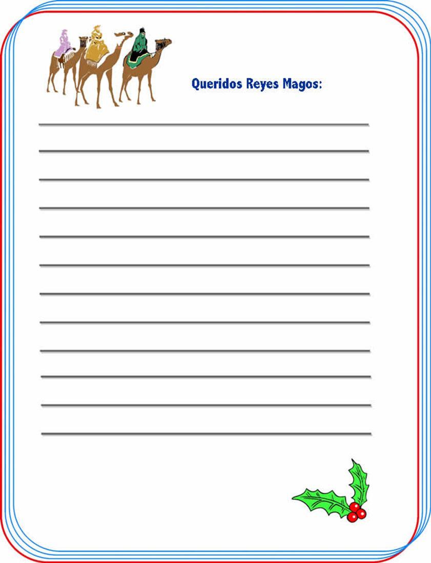 Carta a los Reyes Magos humor