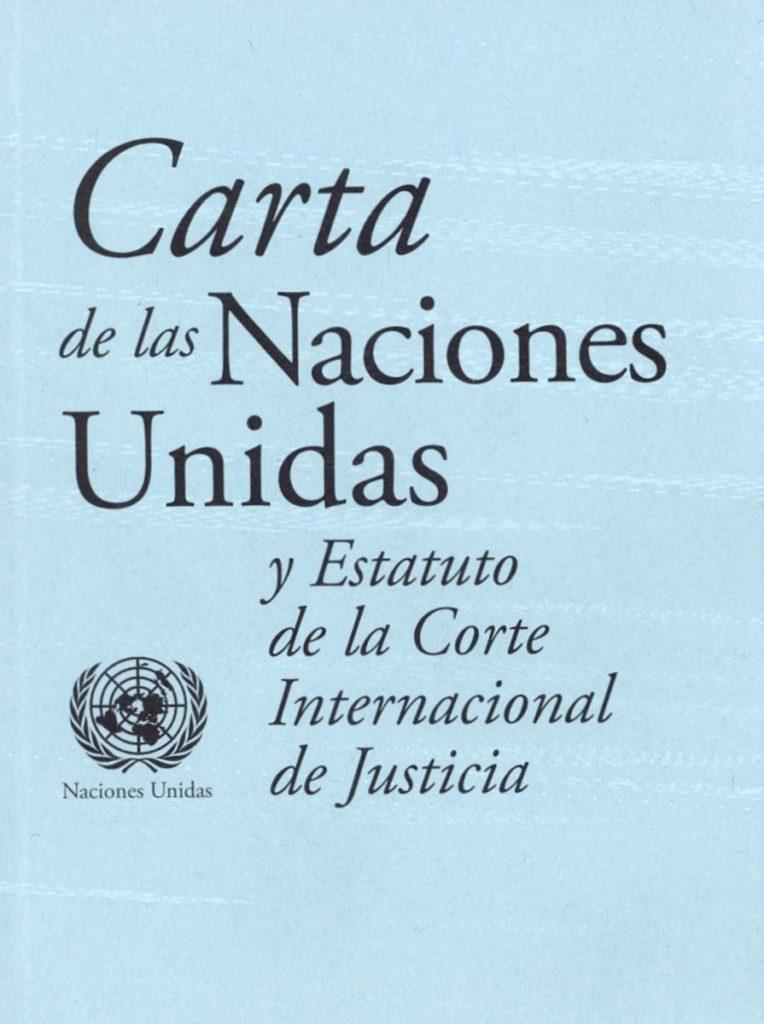 Carta de las Naciones Unidas PDF